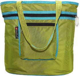 Goodluck Long Handle Nylon Foldable Tote Shopper Bag Fo