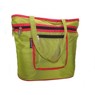 Goodluck Long Handle Nylon Foldable Tote Shopper Bag For woman(SSOBG18)