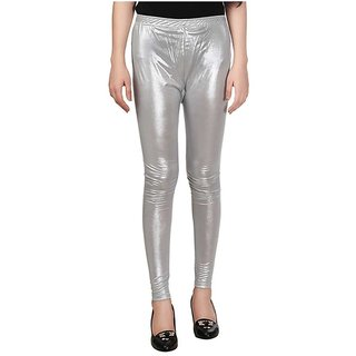 KriSo Shimmer Legging ( Silver Colour )