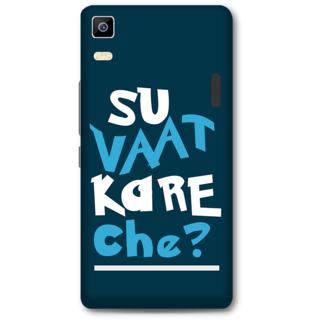 Lenovo K3 Note Designer Hard-Plastic Phone Cover from Print Opera -Typography