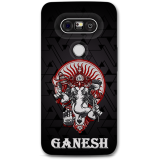 Lg G5 Designer Hard-Plastic Phone Cover from Print Opera -Ganesh