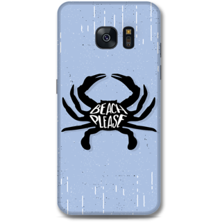 Samsung Galaxy S7 Designer Hard-Plastic Phone Cover from Print Opera -Beach please