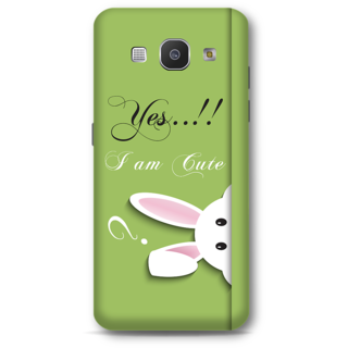 Samsung Galaxy A8 2015 Designer Hard-Plastic Phone Cover from Print Opera -Yes i am cute