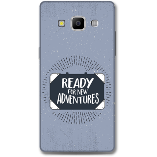 Samsung Galaxy A7 2015 Designer Hard-Plastic Phone Cover from Print Opera -Ready for the adventures