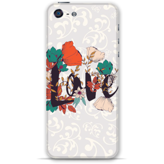 IPhone 5-5s Designer Hard-Plastic Phone Cover from Print Opera -Floral