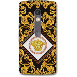Moto X Play Designer Hard-Plastic Phone Cover from Print Opera -Artistic
