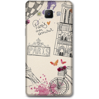 Samsung Galaxy A5 2014 Designer Hard-Plastic Phone Cover from Print Opera -Paris