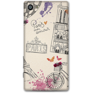 Sony Xperia Z5 Compact Designer Hard-Plastic Phone Cover from Print Opera -Paris
