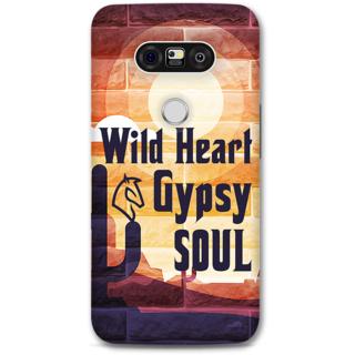 Lg G5 Designer Hard-Plastic Phone Cover from Print Opera -Typography