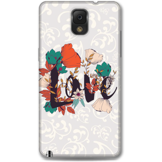 Samsung Galaxy Note 3 Designer Hard-Plastic Phone Cover from Print Opera -Floral