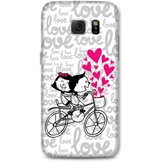 Samsung Galaxy S6 Designer Hard-Plastic Phone Cover from Print Opera -Love