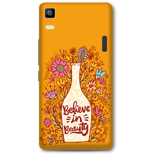 Lenovo K3 Note Designer Hard-Plastic Phone Cover from Print Opera -Believe in beauty