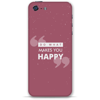 IPhone 5-5s Designer Hard-Plastic Phone Cover from Print Opera -Do what makes you happy