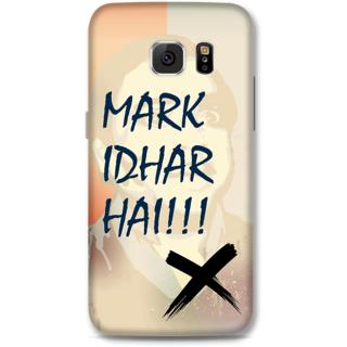 Samsung Galaxy S6 Designer Hard-Plastic Phone Cover from Print Opera -Mark idhar hai