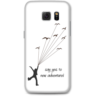 Samsung Galaxy S6 Designer Hard-Plastic Phone Cover from Print Opera -Say yes to new adventure