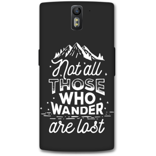 One Plus One Designer Hard-Plastic Phone Cover from Print Opera -Creativity