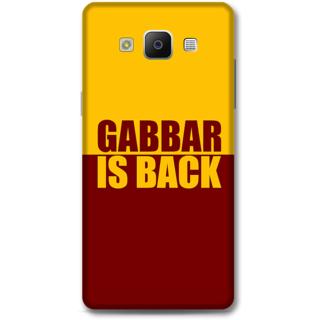 Samsung Galaxy A5 2014 Designer Hard-Plastic Phone Cover from Print Opera -Gabbar is back