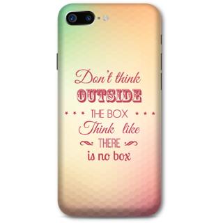Iphone 7 plus Designer Hard-Plastic Phone Cover from Print Opera -Creativity