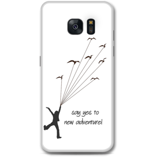 Samsung Galaxy S7 Designer Hard-Plastic Phone Cover from Print Opera -Say yes to new adventure