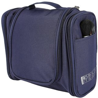 Unique Cartz 3 Sided Pocket Travel Toiletry Bag cum Cosmetic Organizer