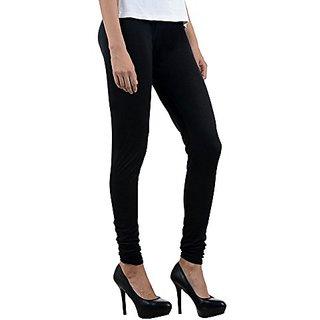 Women's Modal Seamless Stretchy Basic Churidar Leggings