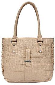 Genuine Leather Stylish Womens Hand Bag (Black)