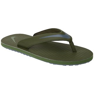 6a34d2b59ce9 Buy Nike Men S Chroma Thong 5 Green Slippers Online   ₹1395 from ...
