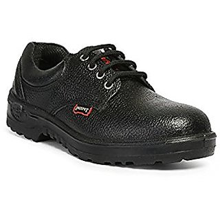 Safety Shoes, Black, Size 9