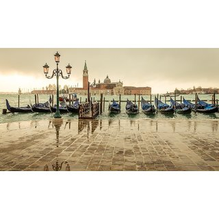 MYIMAGE Amazing Places and Cities Poster (Paper Print, 12x18 inch)