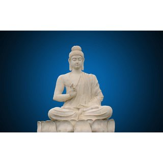 MYIMAGE Lord Gautam Buddha Beautiful Poster (Paper Print, 12x18 inch)