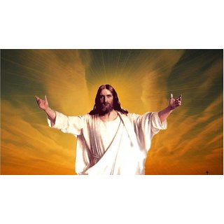 MYIMAGE Lord Jesus Christ Beautiful Poster (Paper Print, 12x18 inch)
