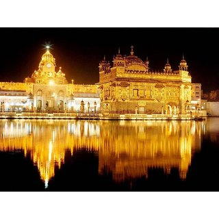 MYIMAGEGolden Temple Beautiful Poster (Paper Print, 12x18 inch)