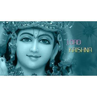 MYIMAGE Lord Shree Krishna Beautiful Poster (Paper Print, 12x18 inch)