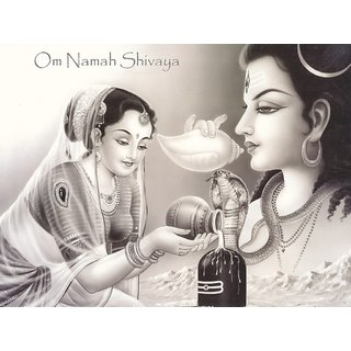 MYIMAGE Lord Shiv Beautiful Poster (Paper Print, 12x18 inch)