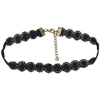 Summer Collection Designer Jaal Black Necklace Necklace Hot Vintage Jewelry Metal Choker Chkr29Jal50040
