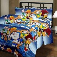 India Get Shopping Super Soft Cartoon Kids Design Print Reversible Single Bed Dohar, Blanket, AC Dohar gift for kids off