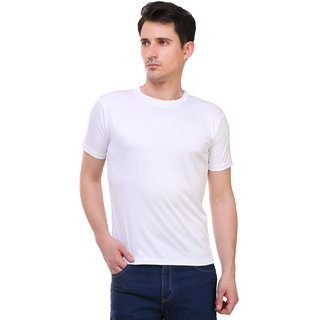 marc rose white color half sleeve t-shirt