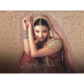 MYIMAGE Beautiful Aishwarya Rai Digital Printing  Poster (12.0 inch x 18.0 inch)