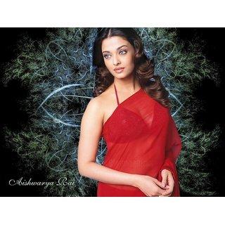 MYIMAGE Beautiful Aishwarya Rai Digital Printing  Poster (12.0 inch x 18.0 inch)