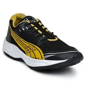BUWCH MEN'S BLACK SPORTS SHOE
