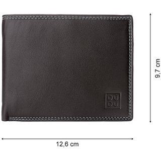 ab672eb68848f DuDu - Men s Wallet - Genuine Leather - Gents Stylish Multicolor Wallet -  Itaca - Color Dark Brown