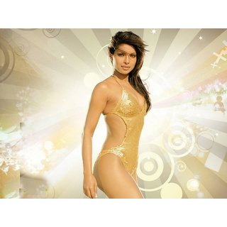 MYIMAGE Beautiful Priyanka Chopra Digital Printing  Poster (12.0 inch x 18.0 inch)