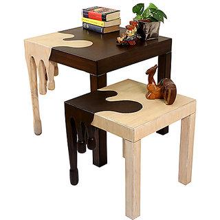 Paint Drop Designer Center Table (Small)