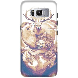 Samsung Galaxy S8 Printed Back Cover By CareFone