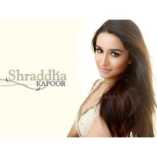 MYIMAGE Beautiful Sharddha Kapoor Digital Printing  Poster (12.0 inch x 18.0 inch)