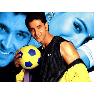 MYIMAGE Hrithik Roshan Digital Printing  Poster (12.0 inch x 18.0 inch)