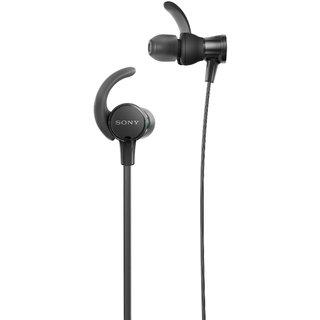 Sony XB510AS EXTRA BASS Sports In-ear Headphones With Mic (Black) With 1Yaer Sony India Warranty