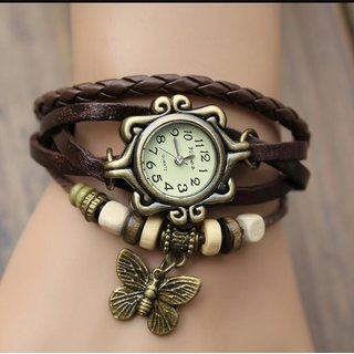 Leather Casual Designer Womens Watch