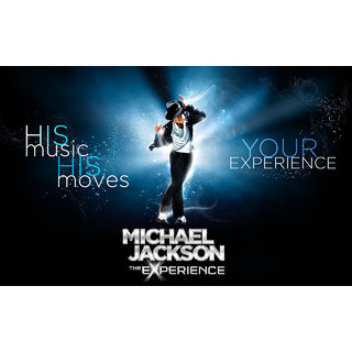 MYIMAGE Hollywood Star Michal Jakson Digital Printing  Poster (12.0 inch x 18.0 inch)
