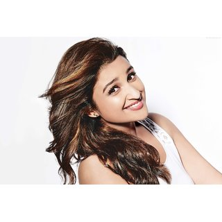 MYIMAGE Bollywood Actress Parineeti Chopra Digital Printing  Poster (12.0 inch x 18.0 inch)